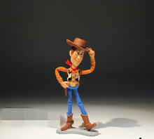 24pcs/lot 9.5cm=3.7inch Original Toy Story Woody Figure Toy Woody Miniature Model Doll woody collection pvc toys