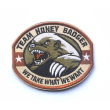 TEAM HONEY BADGER Morale Patch 9*7.5cm WE TAKE WHAT WE WANT Military Tactical Badge Embroidered Patch For Jackets Jeans Backpack(China)