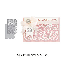 LLove CCraft NO.1 SP LACE 2019 NEW Metal Cutting Dies Scrapbooking for Card Making Photo Album DIY Embossing Cuts(China)