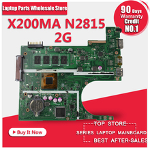 Free shipping Original laptop Laptop motherboard FOR ASUS X200MA K200MA F200MA mainboard With N2815 CPU 2G Integrated fully test(China)
