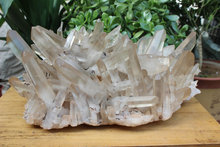 28.97kgs 63.8LB LARGE NATURAL CLEAR QUARTZ CRYSTAL CLUSTER POINTS ORIGINAL Brazil,Wholesales Price Free Shipping ,CDHC