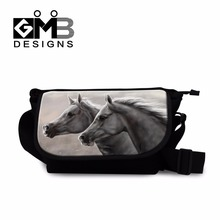 mens canvas messenger bags horse shoulder messenger bag for Primary Students best crossbody bags lightweight handbags for kids