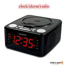 Clock timing HiFi CD audio  player reproduce speech antenatal training with function MP3/USB/Clock/Alarm/Phone charger