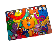 Adventure Time mouse pad characters game pad to mouse notebook computer mouse mat brand gaming mousepad gamer laptop(China)
