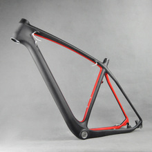 "29"" Bike Frame Red Painting Carbon MTB Frame Moutain Bicycle FM056 BB30 UD Matte 21""(China)"