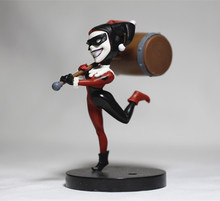 Kids Toy for Children Cool Design Suicide Squad - Harley Quinn with Hammer Mini doll 10cm PVC Model Toy Loose Toy for Gifts