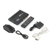 Digital Computer TV Programs Tuner Receiver Dongle Monitor Black LCD TV Box