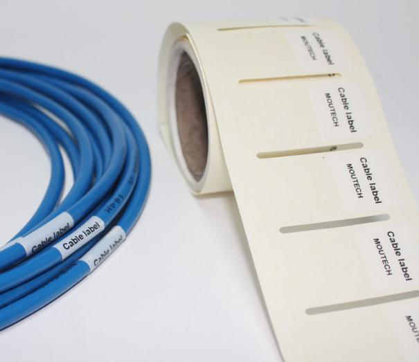 Network Cable Labels Sticker 58x25mm 500 Pieces  White Color Blank Label Waterproof Tearproof oilproof<br><br>Aliexpress