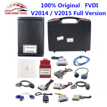 2017 DHL Free Original FVDI Full Version V2014 / V2015 FVDI Abrites Commander Including 18 Softwares Activated & Unlimited Use