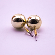 2017 New CCB Light Silver Plating Stud Earrings for Wedding Jewelry For Women/Lady 10 MM