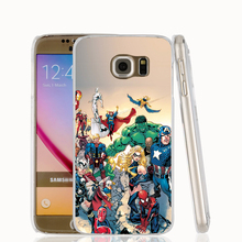 21271 Marvel Comic Book Characters cell phone case cover for Samsung Galaxy S7 edge PLUS S6 S5 S4 S3 MINI