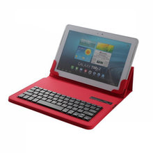 Removable Wireless Bluetooth Keyboard With Tablet Case 10.1inch For Androis ios windows /ASUS/IPAD/Samsung PC Tablet Stand Cover