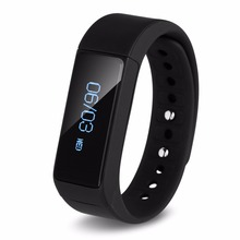 Excelvan i5 plus Smart Bracelet Bluetooth 4.0 Pedometer Tracking Wristband Devices Touch Screen Smart Wristband For For Phone