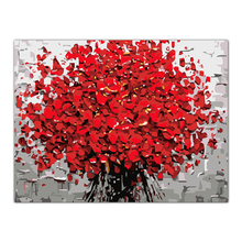 Hot Selling Flower Oil Painting By Numbers Acrylic Drawing On Canvas DIY Home Office Decor AUG16(China)