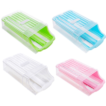 Kitchen Home Refrigerator Drawer Type Egg Storage Box Shelf Organizer Container Holder