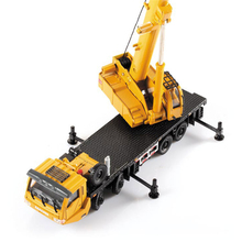 Alloy Engineering Vehicle Material Handling Vehicle Heavy Cranes Manipulator Arm can extend Rotation alloy Car boys&girls toys(China)