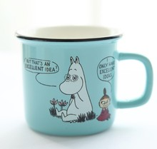 250ml Moomin Ceramic Mug Creative Cartoon Cup Cute Coffee Milk Tea Cups With Handgrip Novelty Gifts