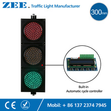 Built-in Traffic Controller LED Traffic Lights Auto Cycle Running Traffic Signs LED Traffic Signal(China)