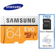 SAMSUNG Micro Sd Original Sd Card EVO Micro Sd Card 32gb Class 10 SDHC SDXC 16 32 64 128gb Max 48/95/100 M/s Free Sd Card Reader(China)