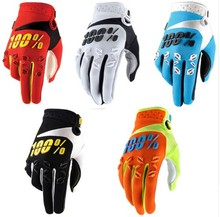 Free shipping Motocross 100 Percent Ridefit AM Bike Gloves MTB Mountain Bike Moto Motorcycle DH Cycling Bicycle 100% Gloves  TLD