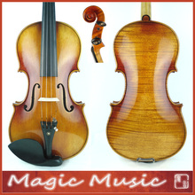 "Master Level! Antonio Stradivarius 1714 ""Soil"" Copy 4/4 Violin #1801, European Spruce handmade oil varnish"