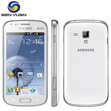 Original Unlocked Samsung Galaxy S Duos S7562 Mobile Phone  4.0''Screen 3G WIFI GPS 5MP 4GB Dual Sim Cell phone