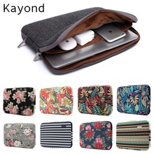 "2017 New Brand Kayond Sleeve Case For Laptop 11"",13"",14"",15"",15.6 inch Notebook Bag For MacBook Air Pro 13.3"",Free Drop Shipping(China)"