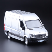 Sale 1:36 scale high simulation Sprinter Spindt,metal pull back cars,3 open door SUV model,free shipping
