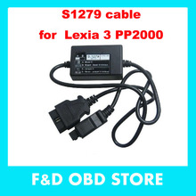 Top Quality S 1279 Diagnostic Interface For Lexia3 PP2000 S.1279 PPS2000 S1279 Cable For Lexia 3 Citroen Peugeot Diagnostic Tool