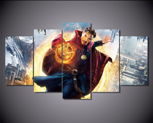 5Piece Canvas Painting Wall Art Poster Doctor Strange Movie Pictures For Room Printed Picture Christmas Decoration Home Decor