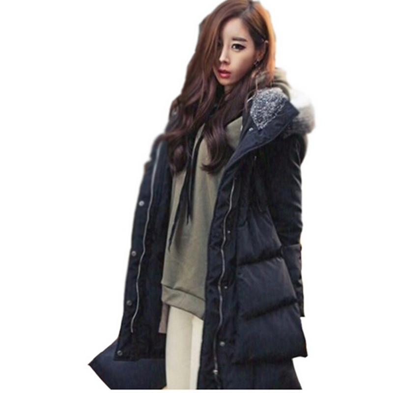 2016 New Women Winter Jacket Women Cotton Coat Long Style Women Causal Coats Fashion Down Parka women thick coat plus sizeÎäåæäà è àêñåññóàðû<br><br>