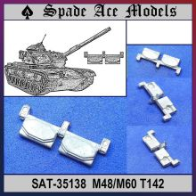 Spade Ace 1/35 35138 Metal Track M60/M48 T142(China)