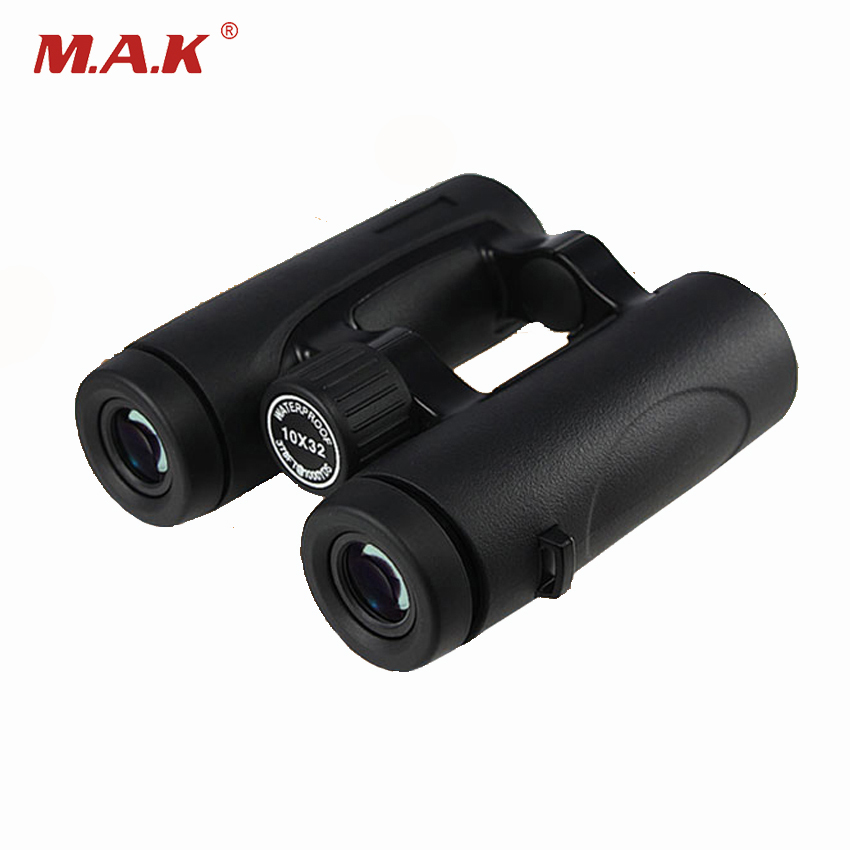 1pc 10x32 HD Outdoor Hunting Waterproof BinocularsTelescope with BAK4 Material of Night Vision Function <br>