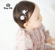 2pcs=1set Hairpins Handmade Glitter star mini. Hair Clips Star kids hairgrips Hair Accessories