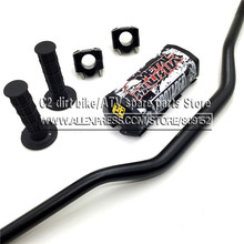 "Motorcycle Motocross 1 1/8"" 28mm Handlebars Kit Fat Bar Handle Tubes For KTM CRF YZF WRF RM KXF Pit Dirt Bike Off-road Enduro(China)"