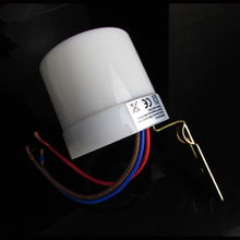 110v-240v Brand New 25A Dusk till Dawn Automatic Photocell Light Sensor Detector Switch Lights switch controller waterproof(China)