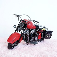 Metal motorcycle for halley motorcycle model vintage handmade Home decoration
