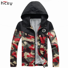 2017Jaqueta De Masculina Spring Summer Men's Camouflage jackets Casual Coat Fashion Windbreaker High Quality a jacket(China)