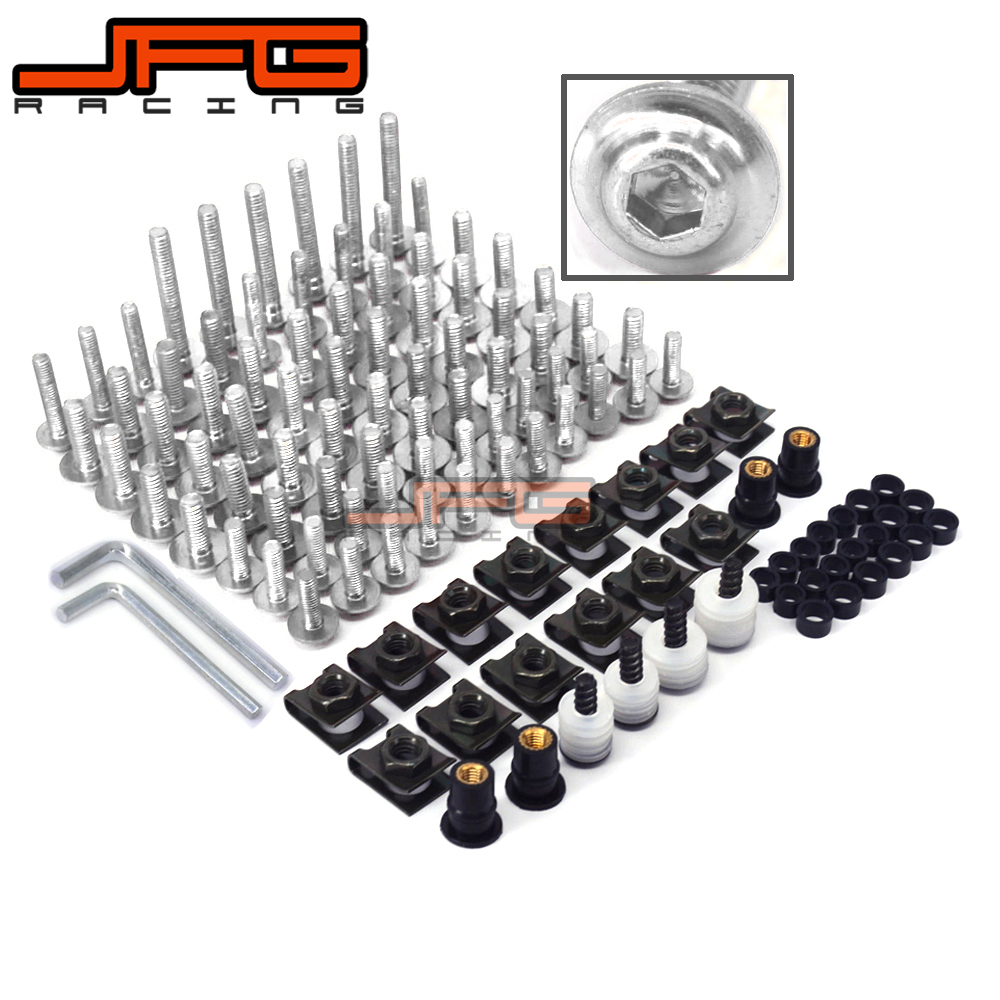 Motorcycle Custom Fairing Screw Bolt Windscreen Screw For BMW F650GS F800GS F800R R1200S S1000R S1000RR K1200R K1200S R1200R HP2<br>