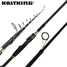KastKing Blackhawk II Portable Carbon Telescopic Fishing Rod ML, M, MH Power 1.98m, 2.13m , 2.24m Spinning Fishing Rod(China)
