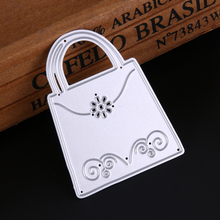 Buy Handbag purse Die Cuts,Metal Cutting Dies Scrapbooking Embossing Folder DIY Funny Decoration Scrapbooking Template for $1.19 in AliExpress store