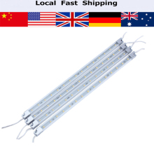 4Pcs/lot LED Bar Lights 110V Warm White Cabinet LED Hard Strip Lights 15LEDs Baby Room Night Light Home Comfortable