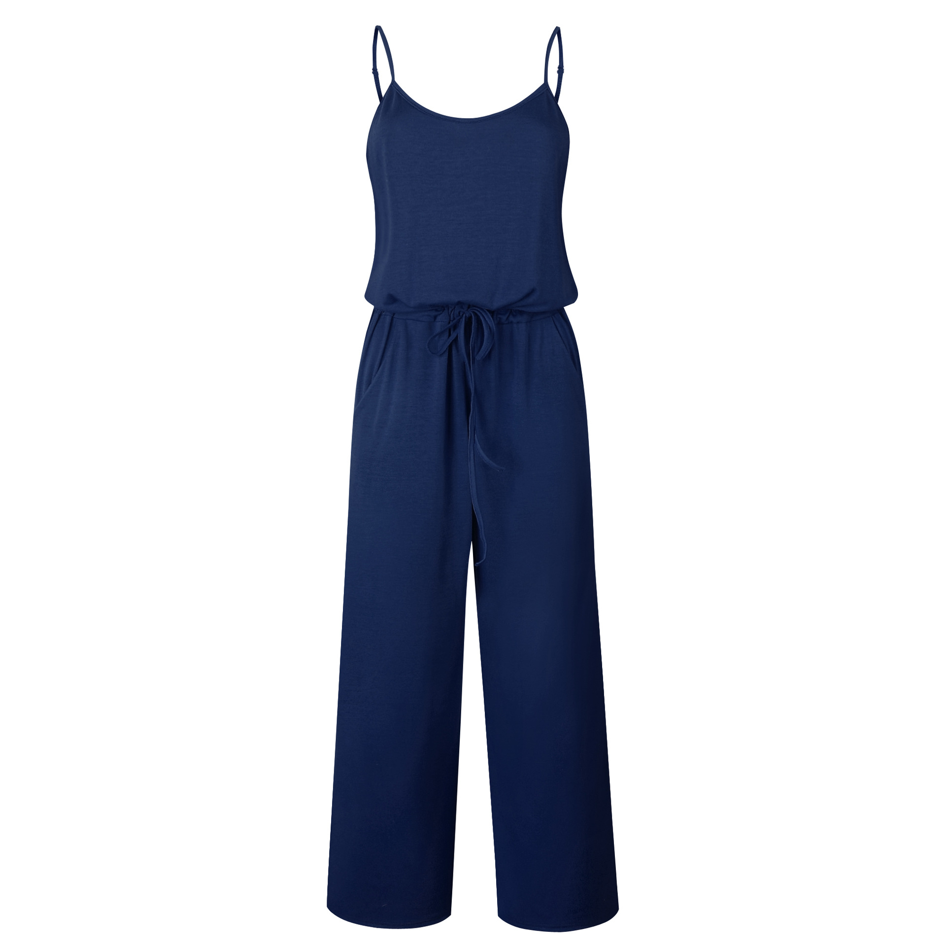 Spaghetti Strap Jumpsuit Women 2018 Summer Long Pants Floral Print Rompers Beach Casual Jumpsuits Sleeveless Sashes Playsuits 66