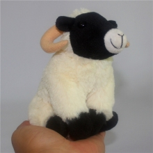 Stuffed  Baby Toy Simulation Animals Black Face Sheep Plush Toys Cute Doll Gifts