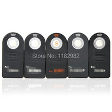 DHL  IR Wireless Remote Control For Nikon canon sony Olympus Pentax For  D7000 D5100 D5000 D3000 D90 D80 D70S D70 D50 D60