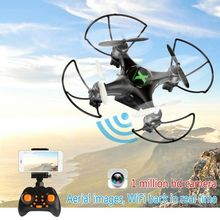 Drone Headless Mode 6 Axis Gyro 2.4GHz 4CH DRONE With 360 Degree Rollover Function One Key Return RC Helicopter WIFI