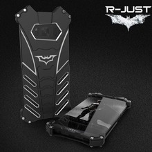 R-JUST Heavy Dust Metal Armor Aluminum Case for Samsung s8 Fundas Coque Housing Cover For Samsung galaxy s8 plus