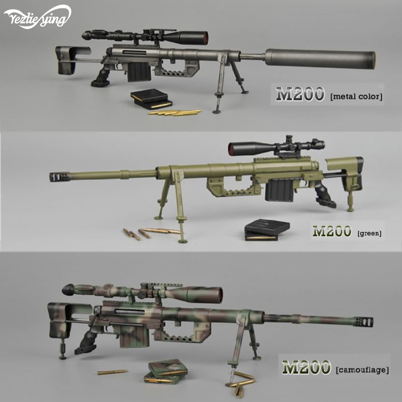 "ZYTOYS 1//6 Scale Long Range Sniper Weapon—LRSW TAC-50 Model Fit  for 12/"" Figure"