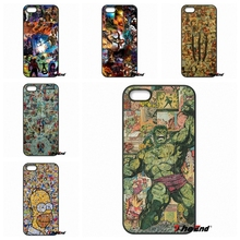 Marvel DC Superhero Collages Hard Phone Case Cover For Huawei Ascend P6 P7 P8 P9 Lite Y5 Y6 II Honor 4C 5C 6 5X G8 Mate 8 7 9