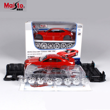 Maisto Chevrolet Camaro 1:24 Scale DIY Alloy Models Metal Diecasts Car Toys High Quality Collection Kids Toys Gift